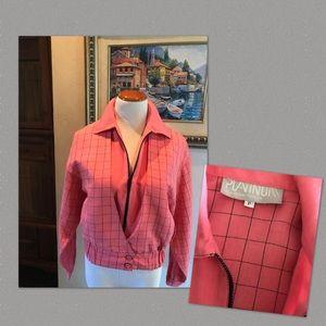 Vintage (1980s) Coral Jacket